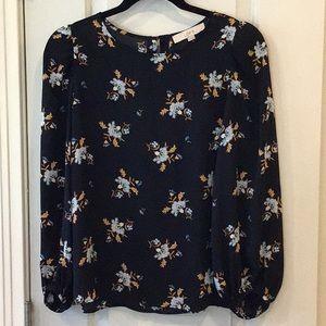 LOFT print blouse